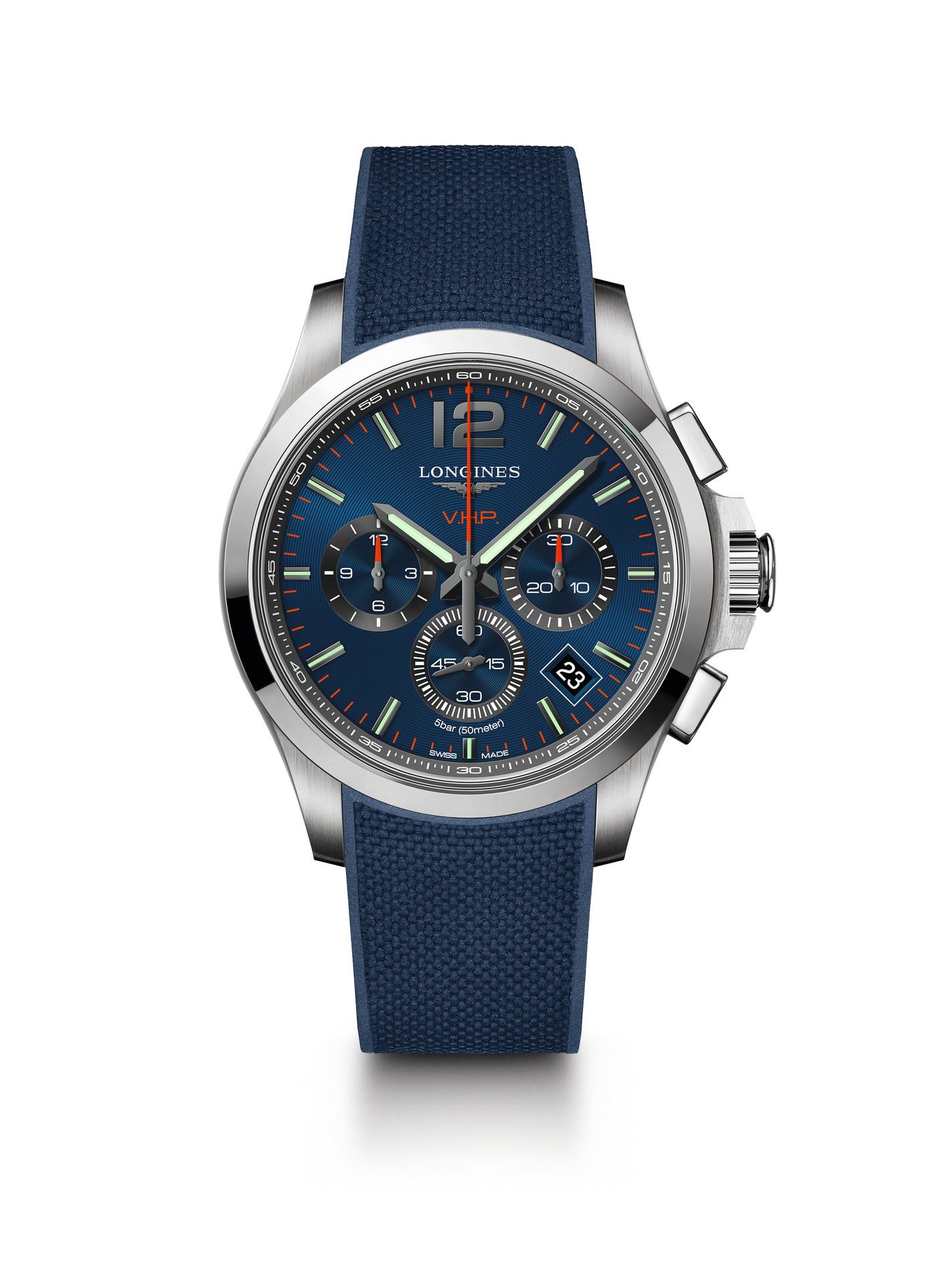 Longines Conquest V.H.P. Chronograph Watch 1