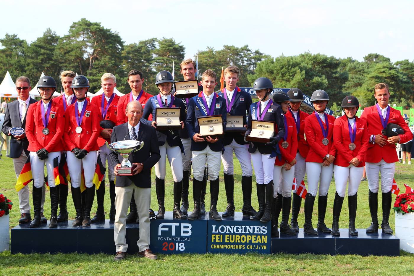 Longines Show Jumping Event: The next generation of athletes showcased in the Longines FEI European Championships CH / J / YR 7