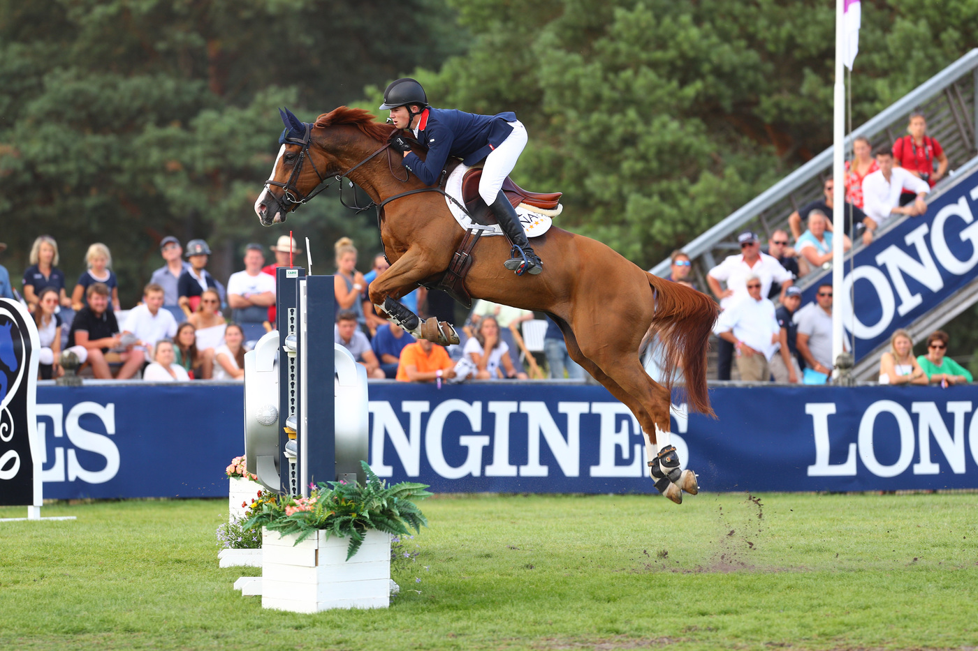 Longines Show Jumping Event: The next generation of athletes showcased in the Longines FEI European Championships CH / J / YR 9