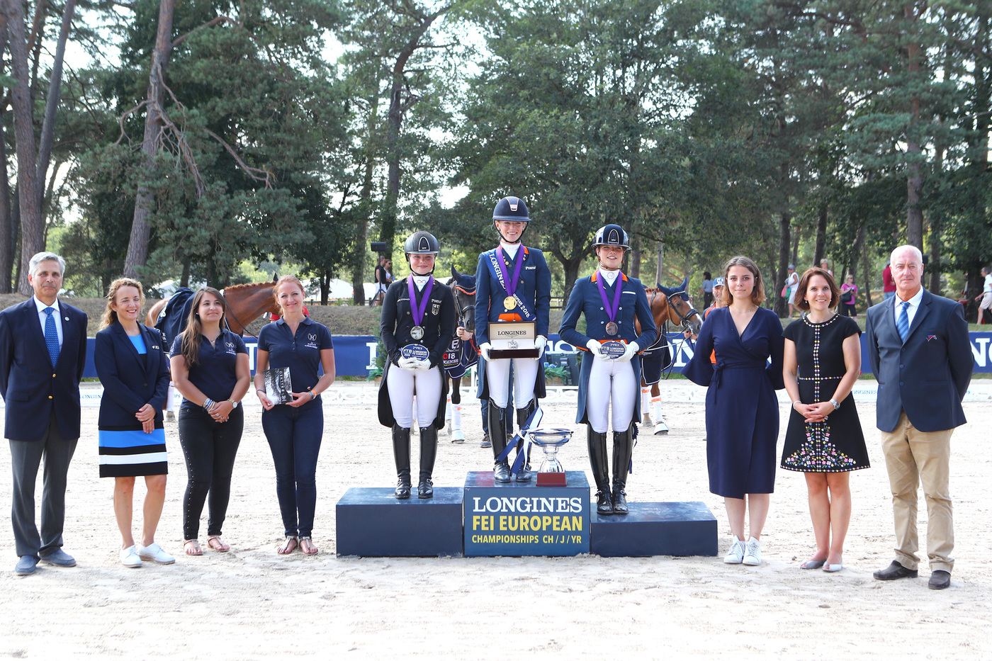 Longines Show Jumping Event: The next generation of athletes showcased in the Longines FEI European Championships CH / J / YR 15