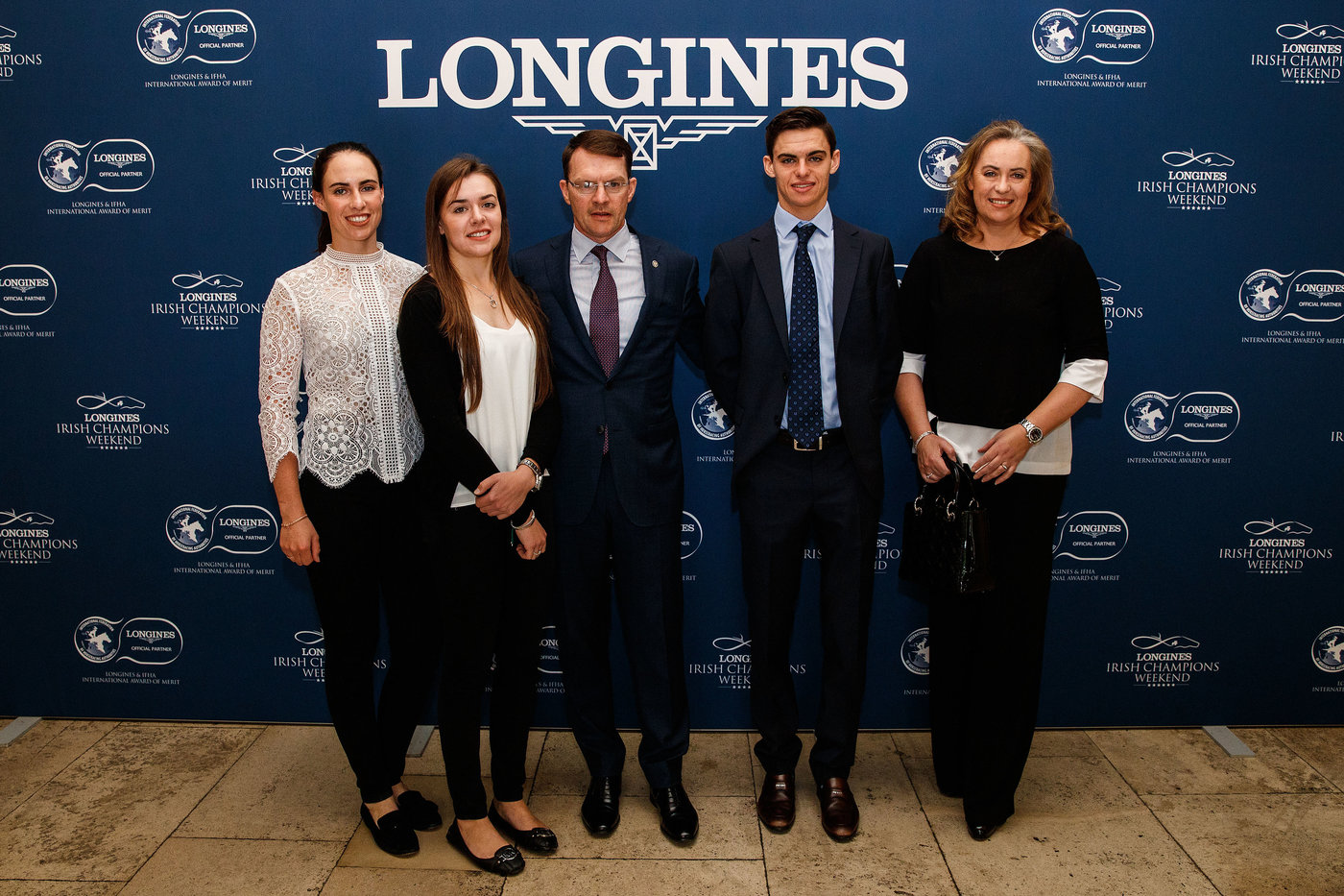 Longines Flat Racing Event: Magnier Family, O'Brien Receive  2018 Longines and IFHA International Award of Merit 8