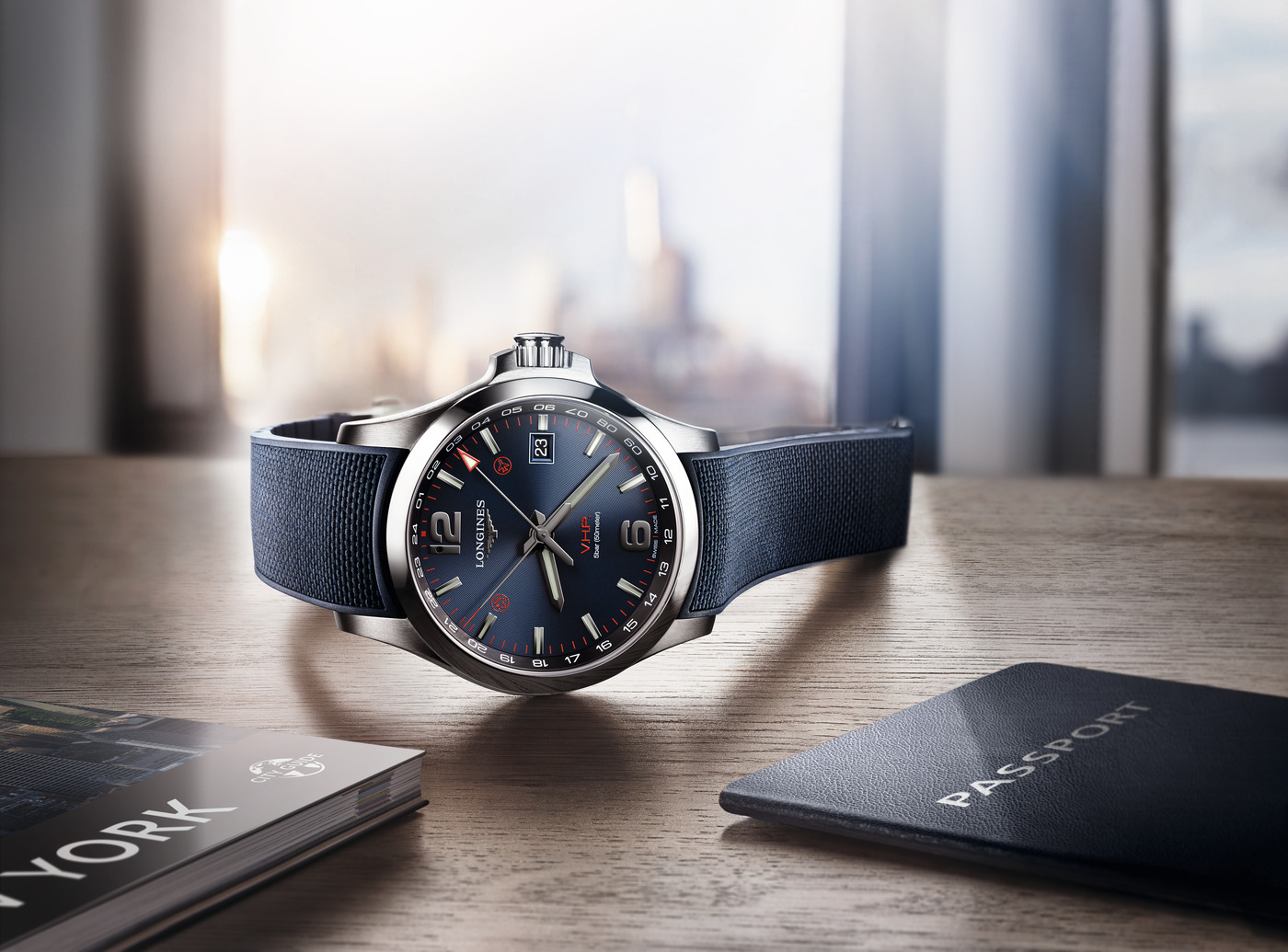 Longines Corporate Event: Longines presents the new Conquest V.H.P. GMT Flash Setting:  the watch made for frequent travelers 5