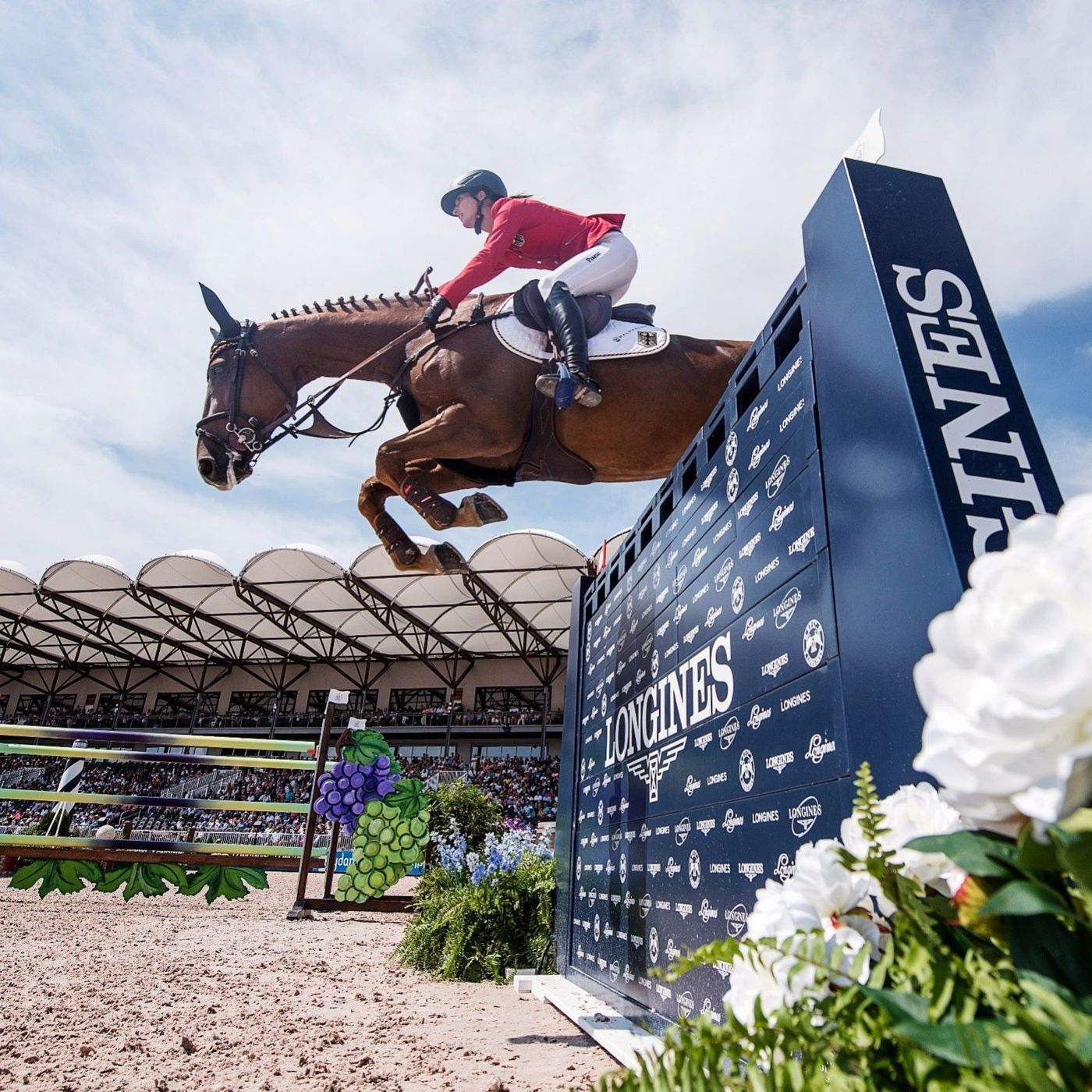 Longines Show Jumping Event: The FEI World Equestrian Games ended beautifully with Germany topping the medal table   3