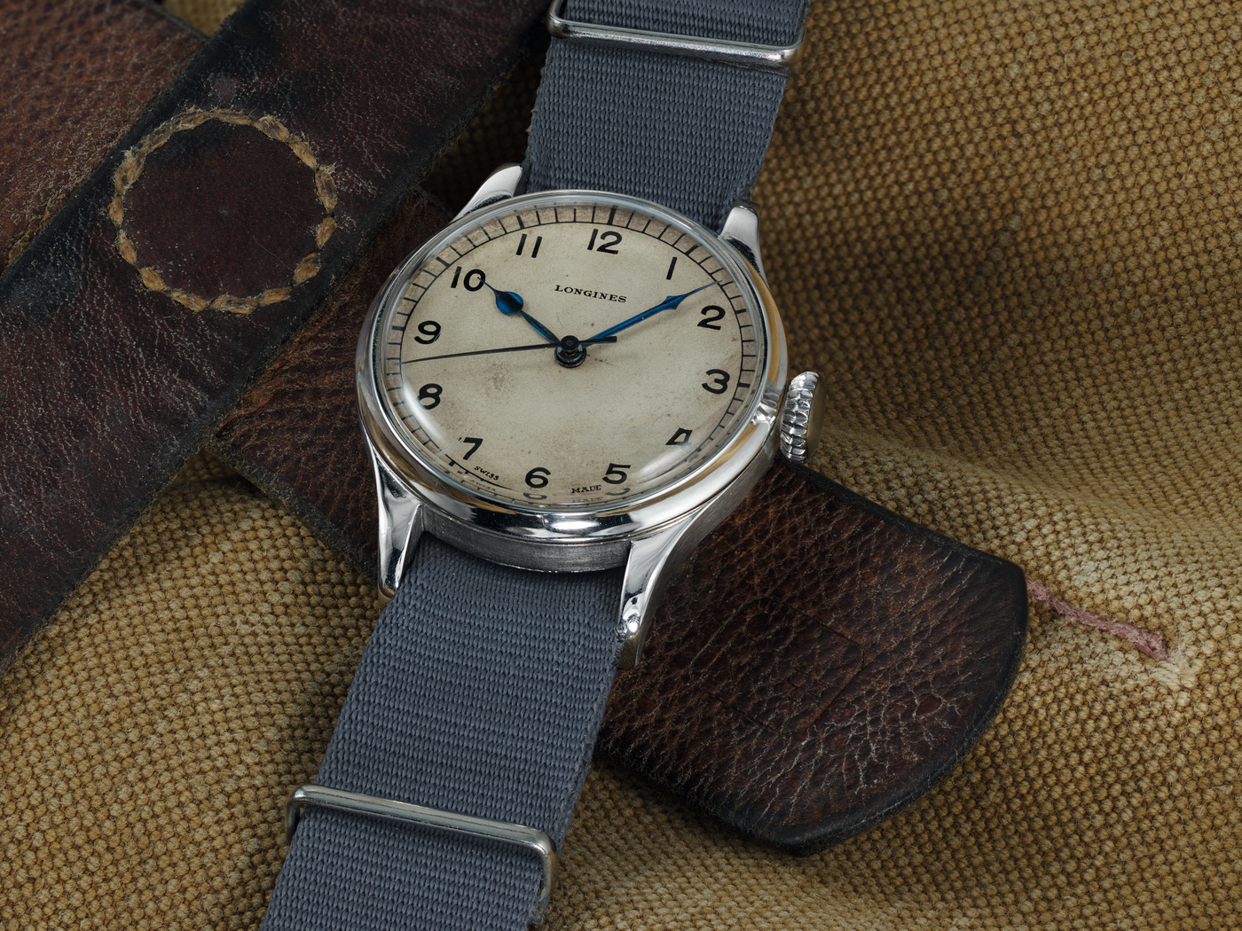 Longines The Longines Heritage Military Watch 3