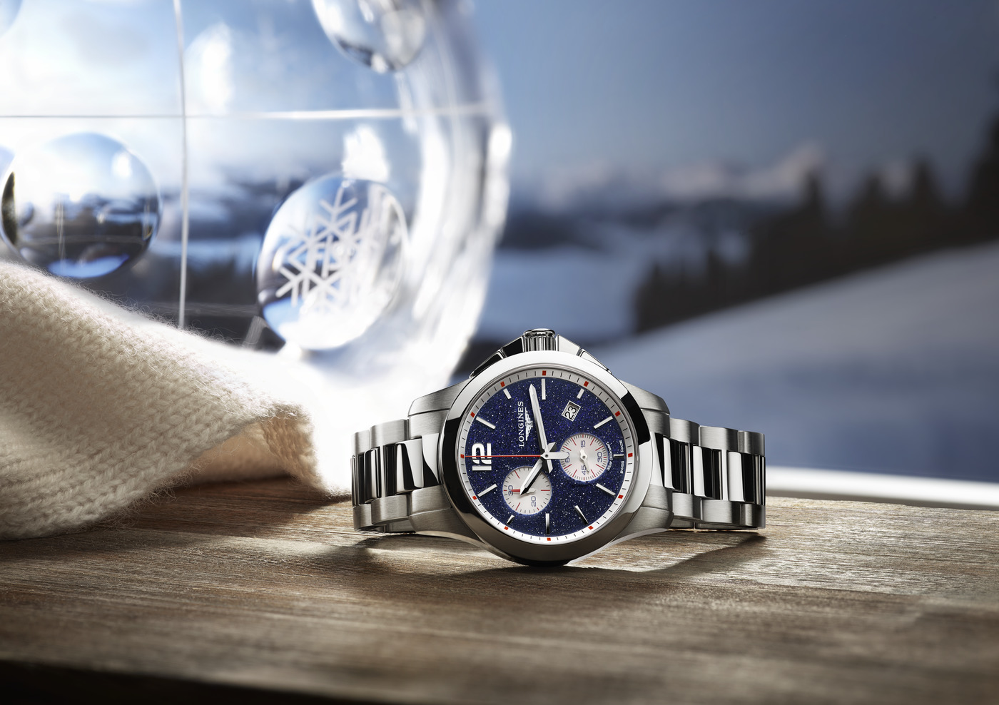Longines Conquest Chronograph by Mikaela Shiffrin Watch 2