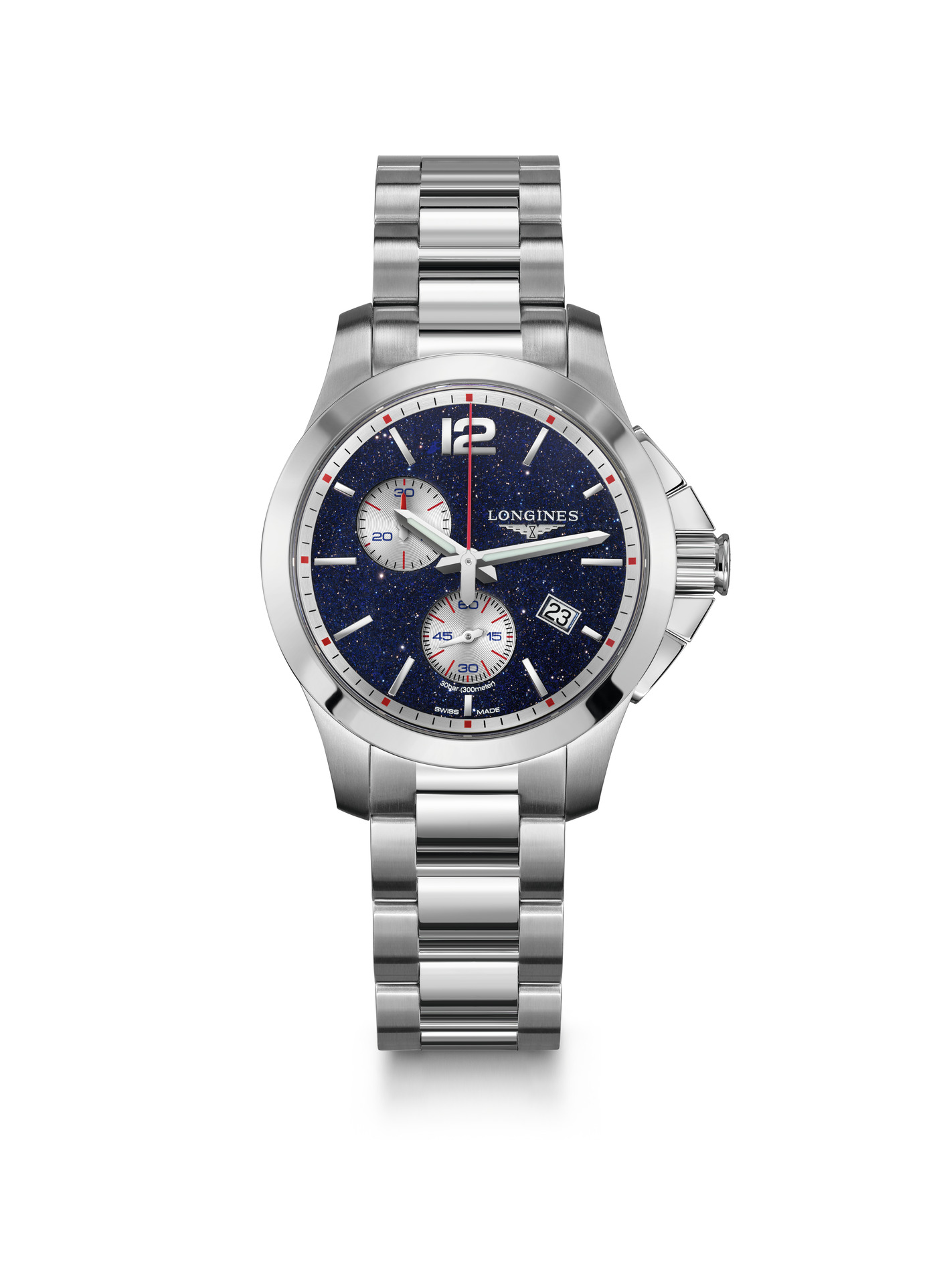 Longines Conquest Chronograph by Mikaela Shiffrin Watch 4