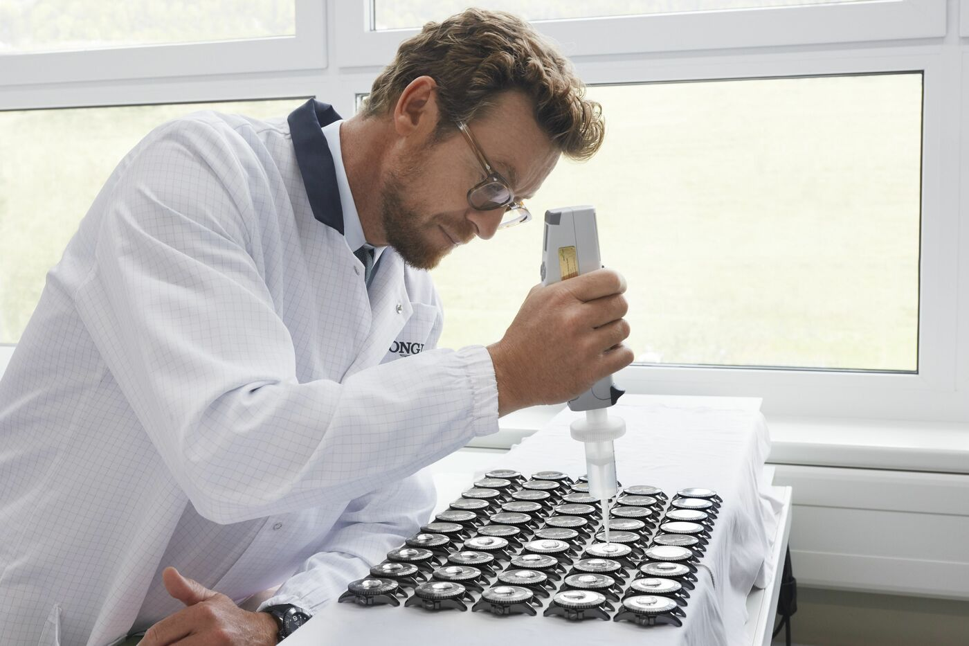 Longines Corporate Event: Simon Baker discovers the Longines universe in Saint-Imier 3