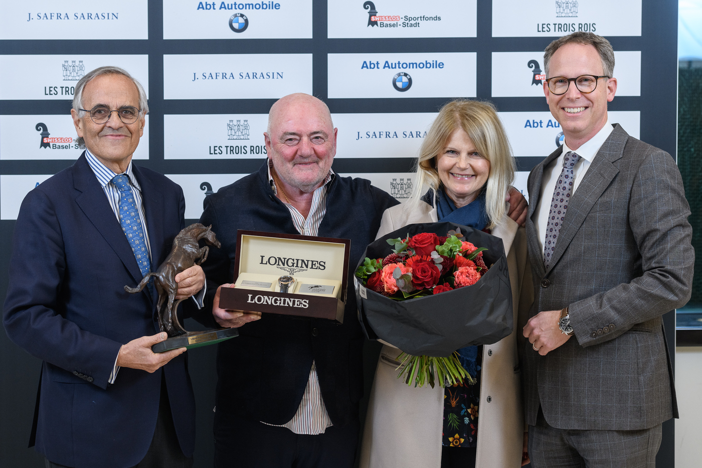 Longines Show Jumping Event: Luigi Baleri is the 2019 Longines Owner of the Year 2
