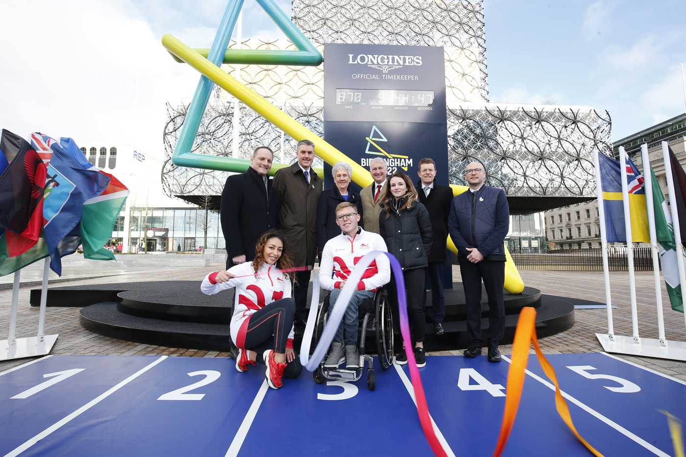Longines Commonwealth Games Event: Longines and CGF agree historic multi-Commonwealth Games partnership, as Birmingham 2022 Countdown Clock is revealed 2
