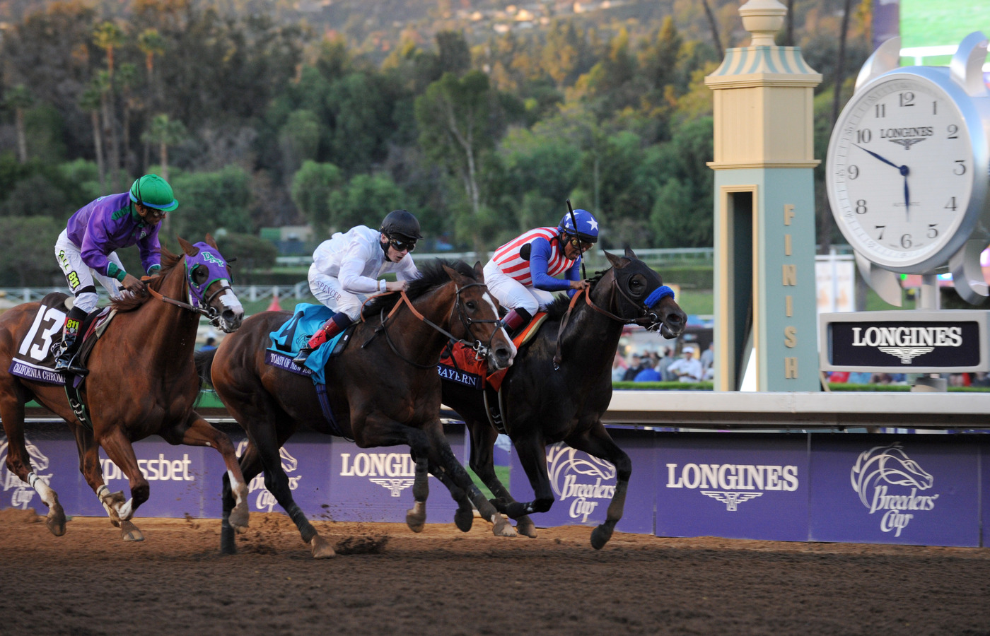 Longines Flat Racing Event: Longines Times the Breeders' Cup World Championships 3