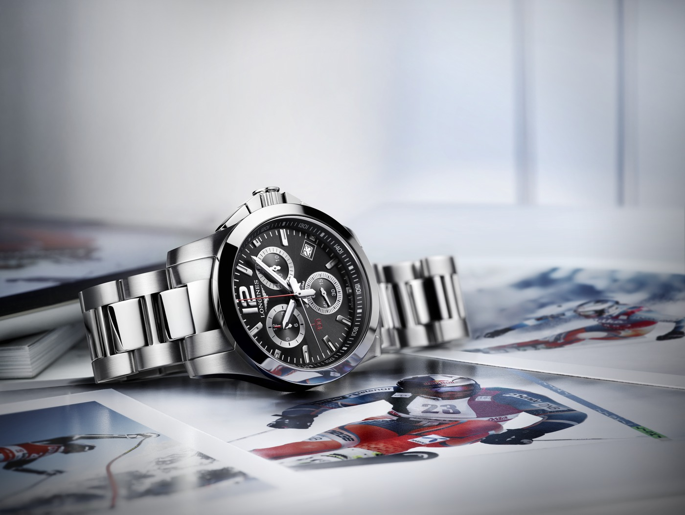 Longines Conquest 1/100th Alpine Skiing Watch 2