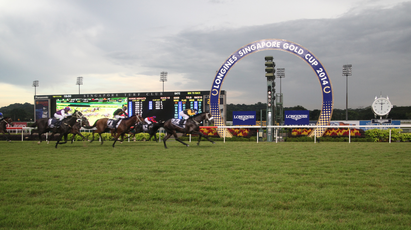 Longines Flat Racing Event: LONGINES SINGAPORE GOLD CUP 2014 RAISES S$241,616 FOR CHARITY (Singapore, SINGAPORE)  11