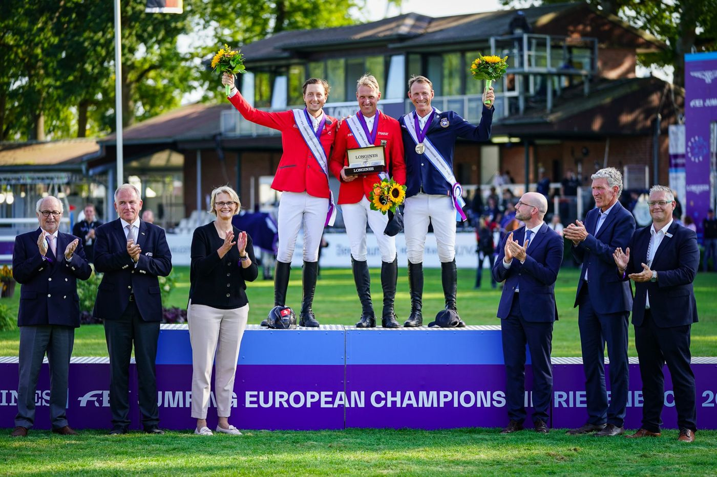 Longines Show Jumping Event: Europe's pre-eminent riders secured victories at the Longines FEI Jumping European Championship 2021   1