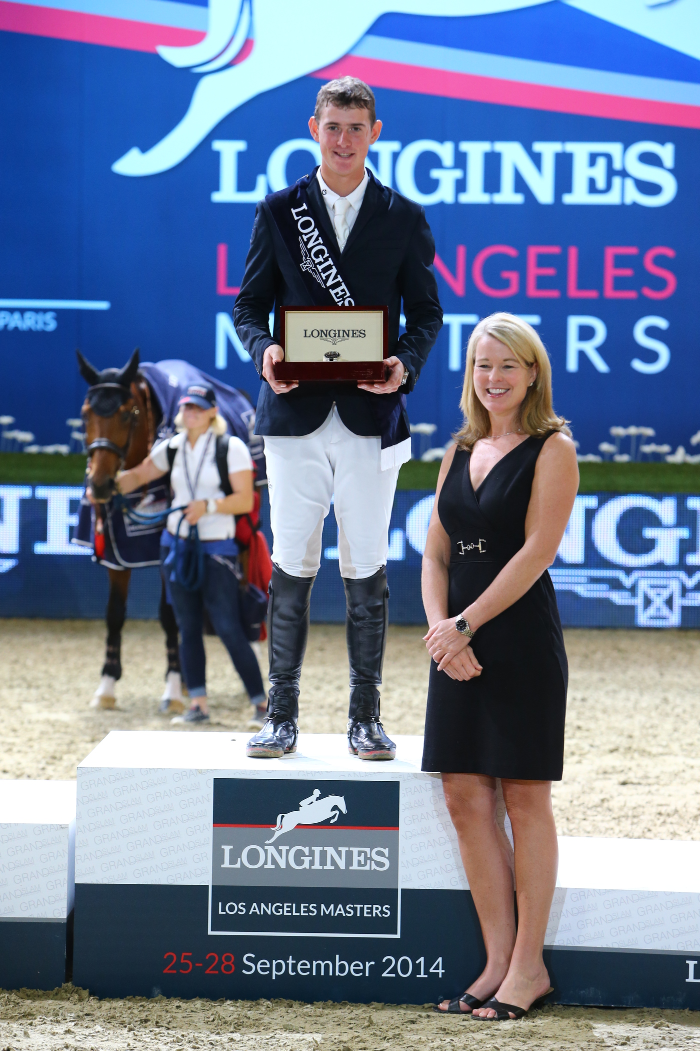 Longines Show Jumping Event: The first Longines Los Angeles Masters (Los Angeles Masters, UNITED STATES (THE))  9