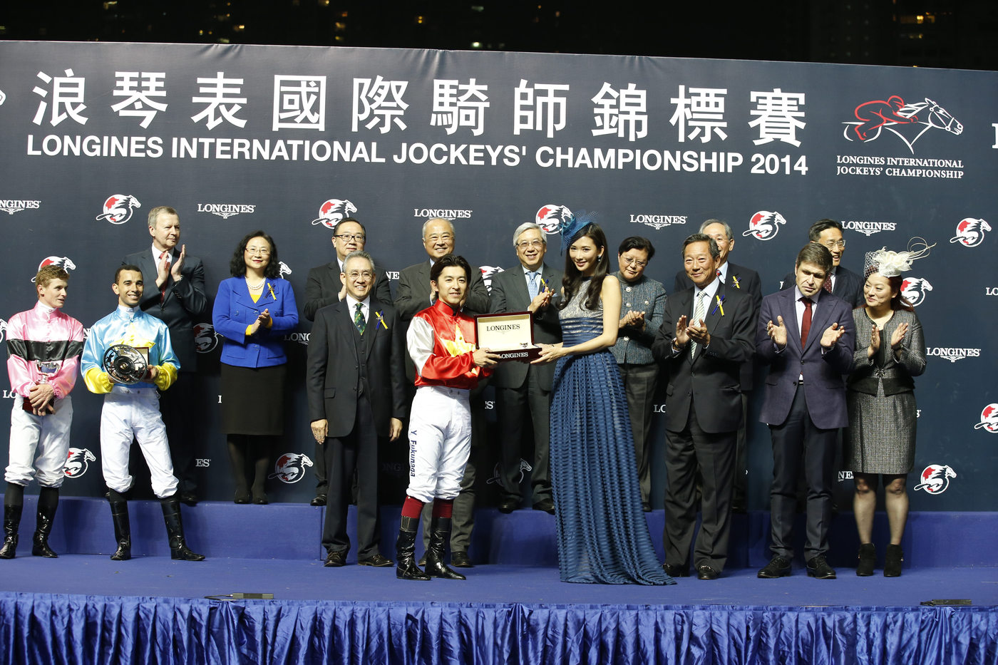 Longines Flat Racing Event: Remarkable victory of Yuichi Fukunaga at the Longines International Jockey's Championship 2014 5