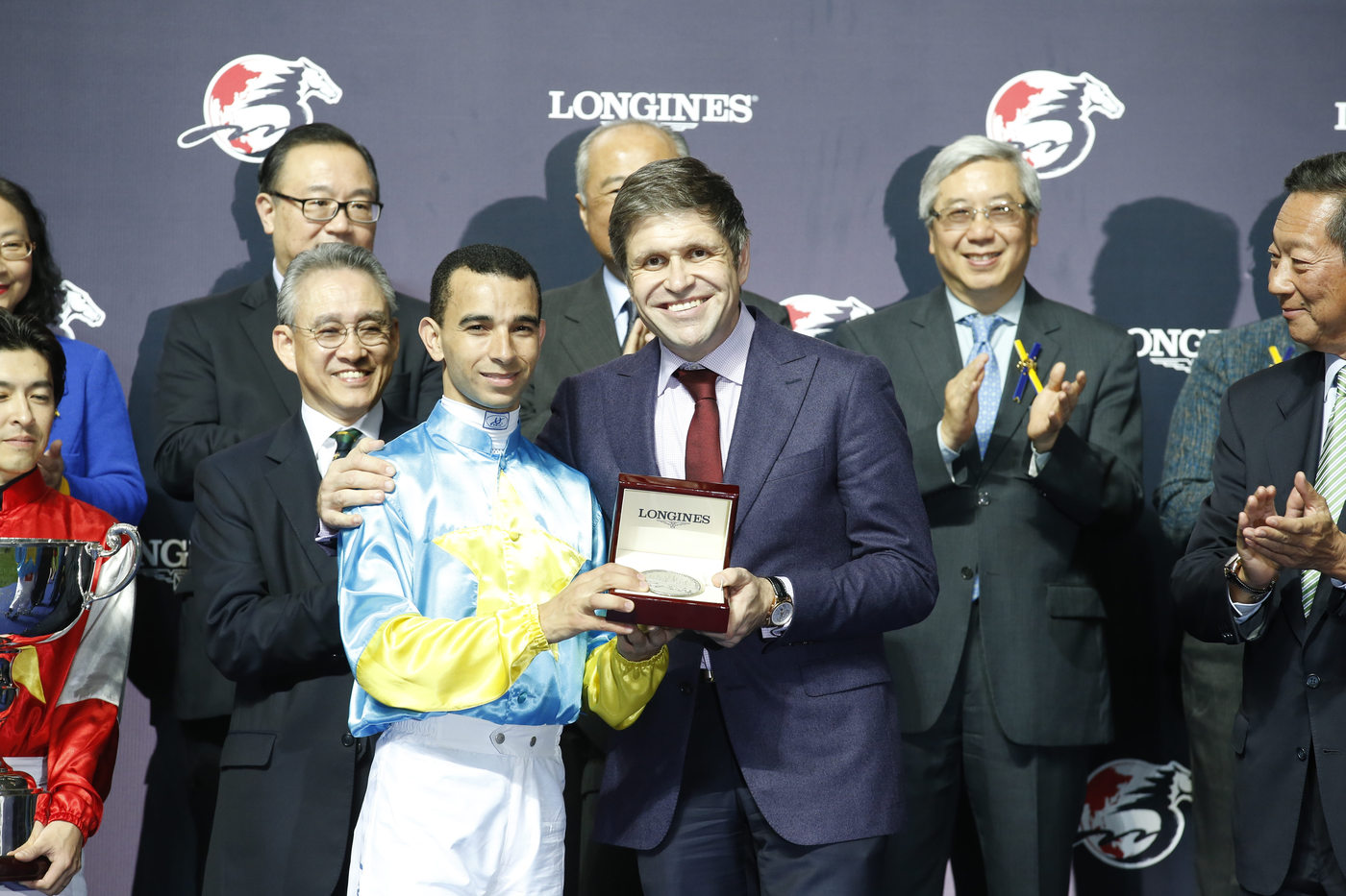 Longines Flat Racing Event: Remarkable victory of Yuichi Fukunaga at the Longines International Jockey's Championship 2014 6