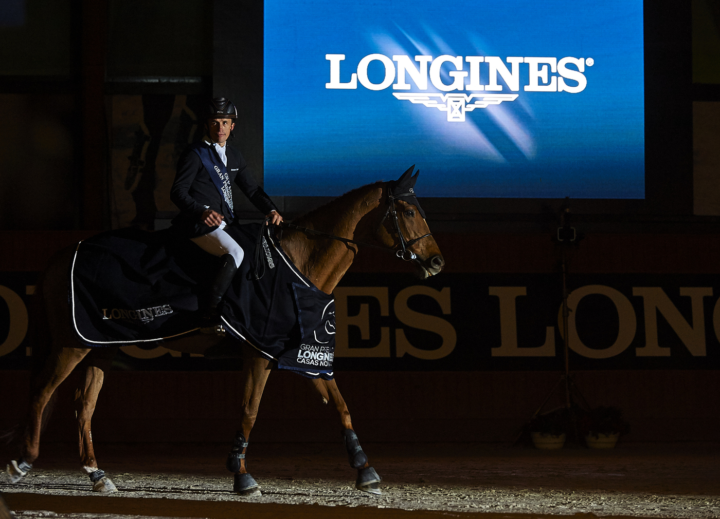 Longines Show Jumping Event: Superb victory of Leopold van Asten riding VDL Groep Zidane at the Longines Grand Prix of CSI A Coruña's winter edition 4