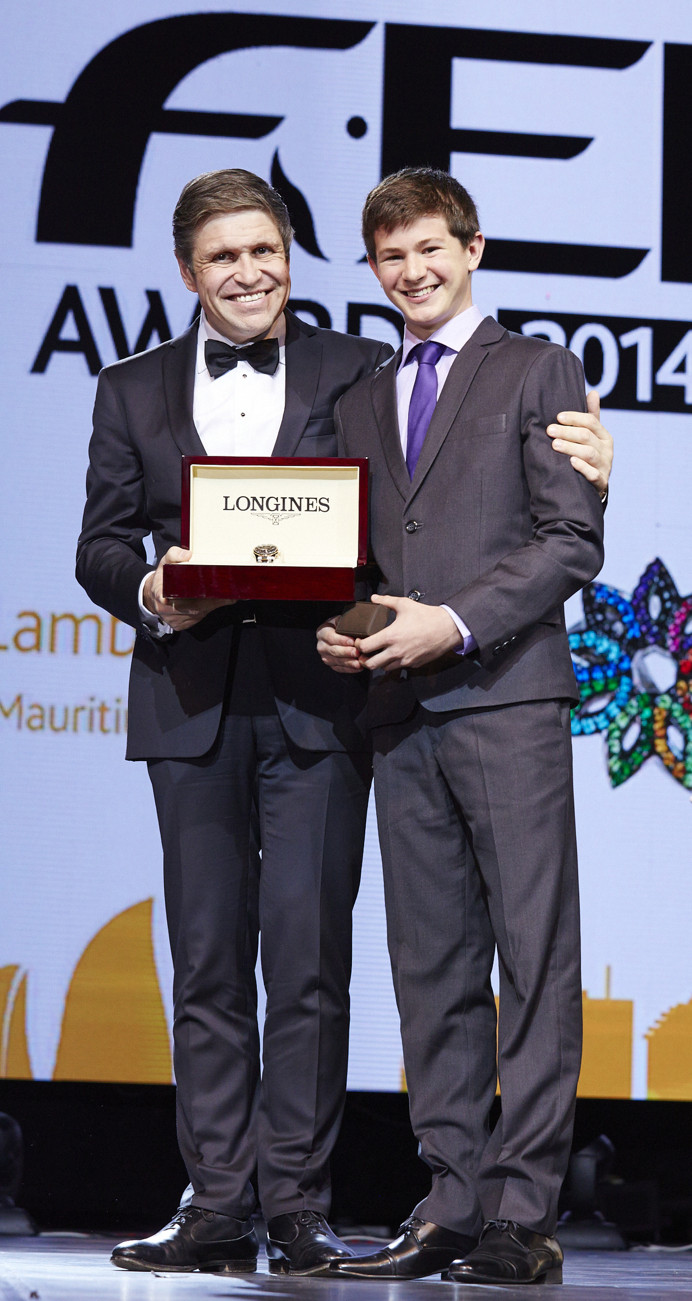 Longines Show Jumping Event: Lambert Leclezio awarded with the Longines Rising Star Award at the FEI Awards 2