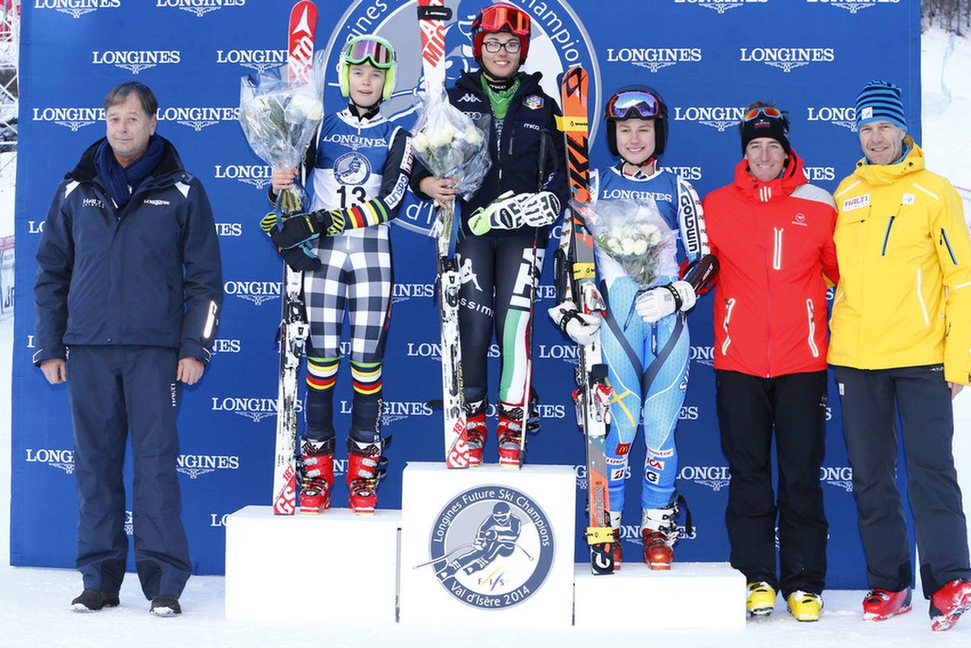 Longines Alpine Skiing Event: Second edition of the Longines Future Ski Champions – A successful 100% female competition in Val d'Isère 2