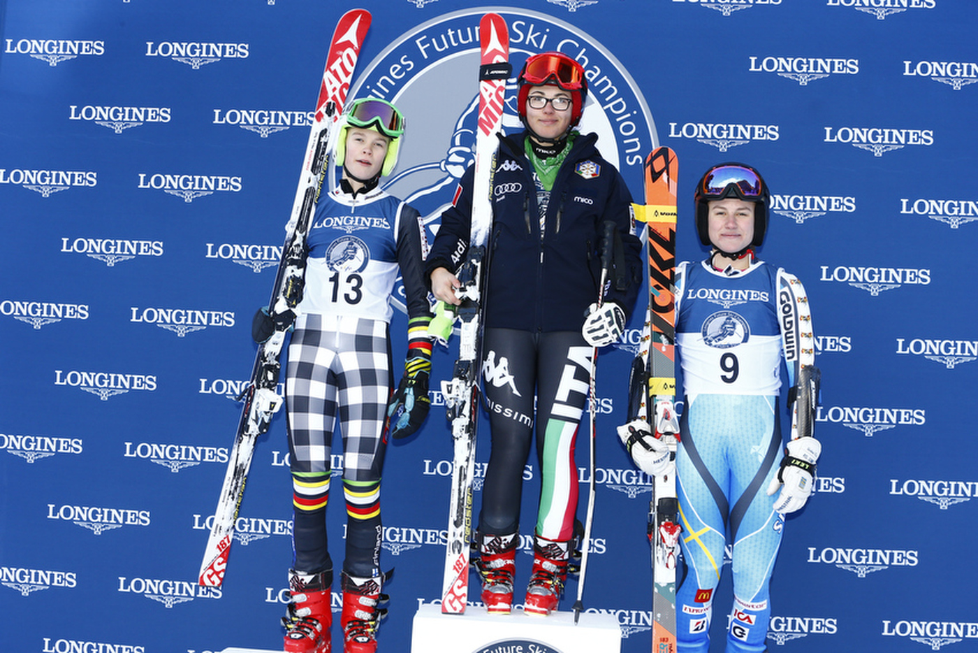 Longines Alpine Skiing Event: Second edition of the Longines Future Ski Champions – A successful 100% female competition in Val d'Isère 4