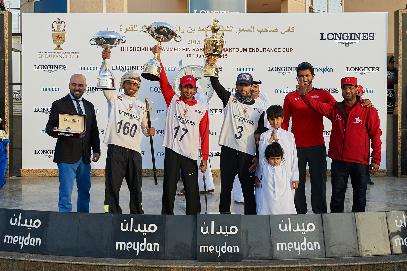 Longines Endurance Event: HH Sheikh Hamdan wins the 2015 Endurance Cup Presented by Longines 1
