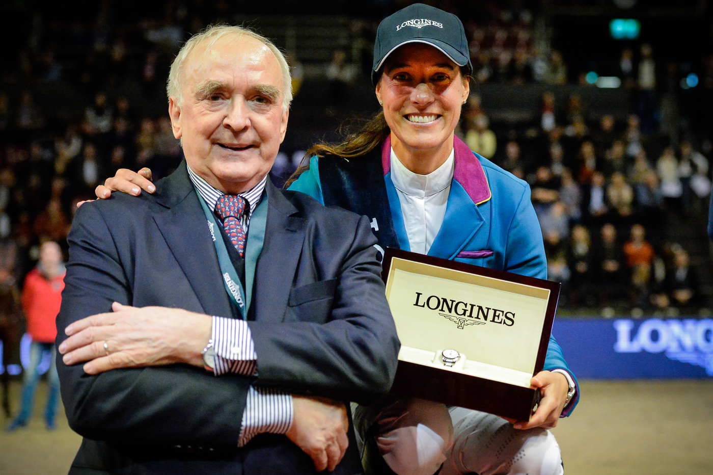 Longines Show Jumping Event: Luciana Diniz (POR) wins the Longines Grand Prix of the Longines CSI Basel 1