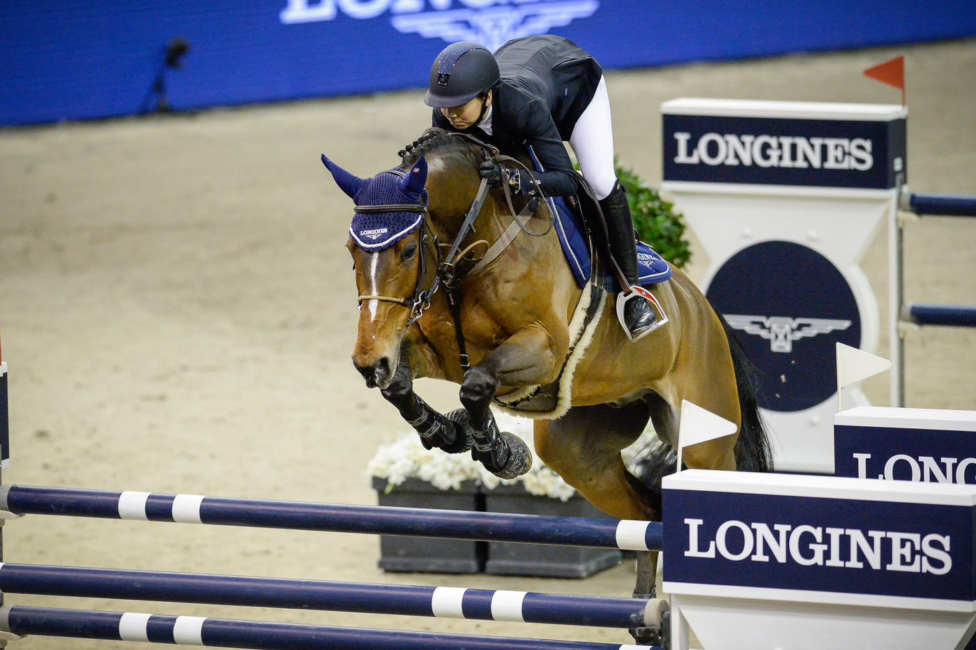 Longines Show Jumping Event: Luciana Diniz (POR) wins the Longines Grand Prix of the Longines CSI Basel 2
