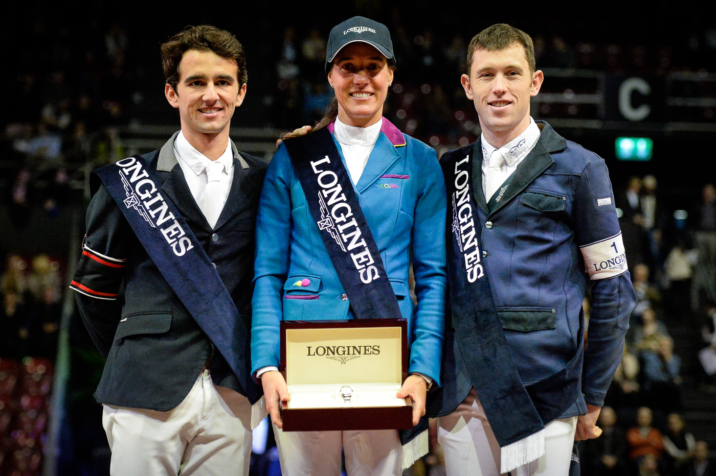 Longines Show Jumping Event: Luciana Diniz (POR) wins the Longines Grand Prix of the Longines CSI Basel 5