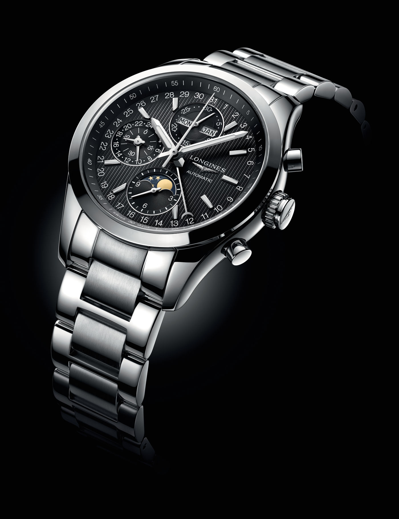 Longines Conquest Classic Moonphase Watch 1