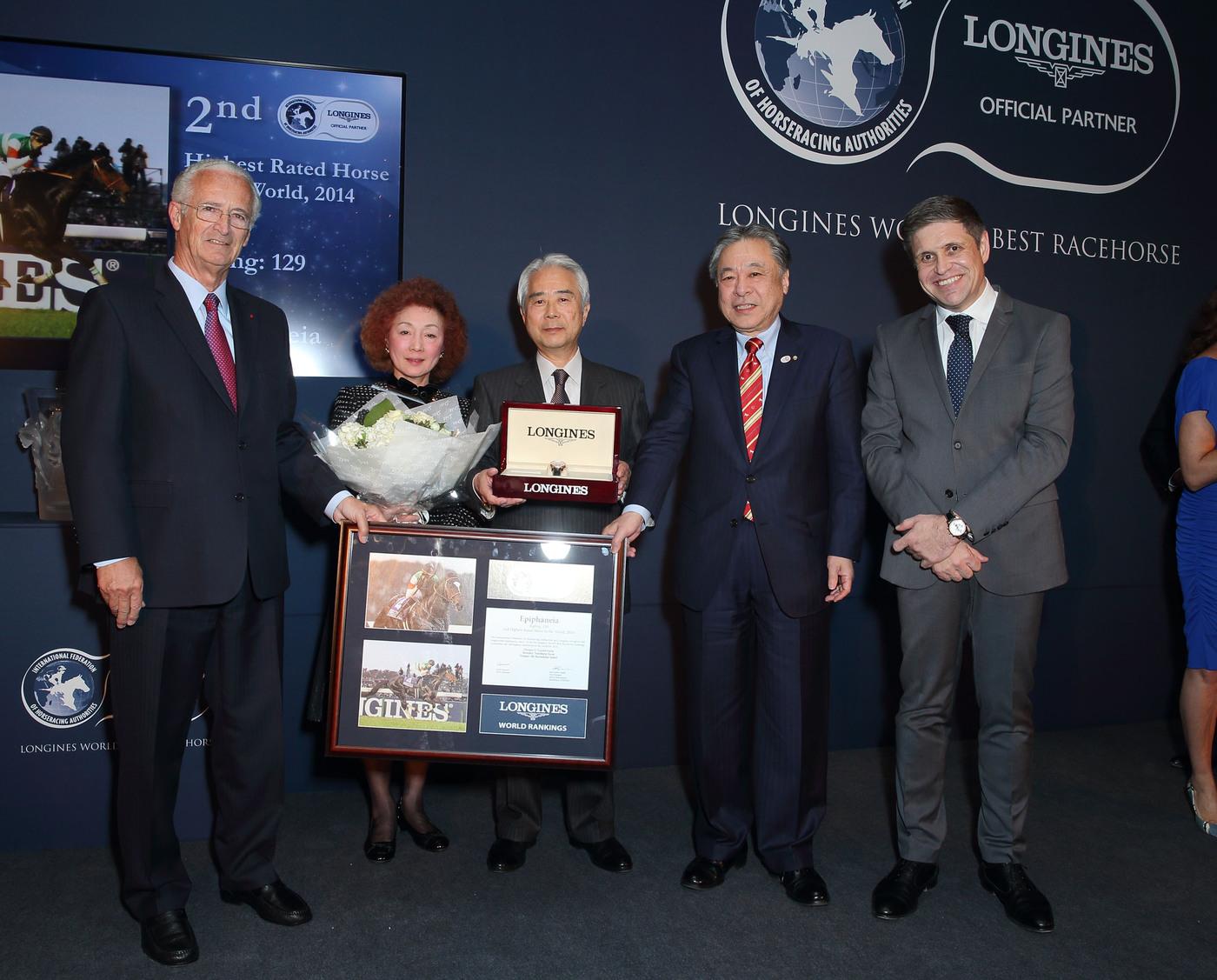 Longines Flat Racing Event: Just A Way honoured as the 2014 Longines World's Best Racehorse  3