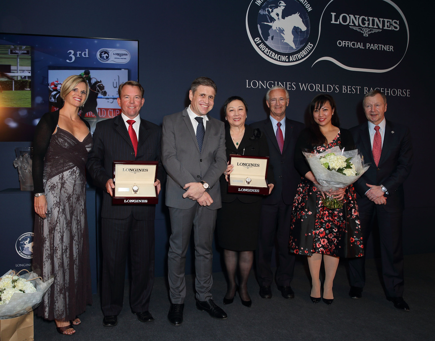 Longines Flat Racing Event: Just A Way honoured as the 2014 Longines World's Best Racehorse  4