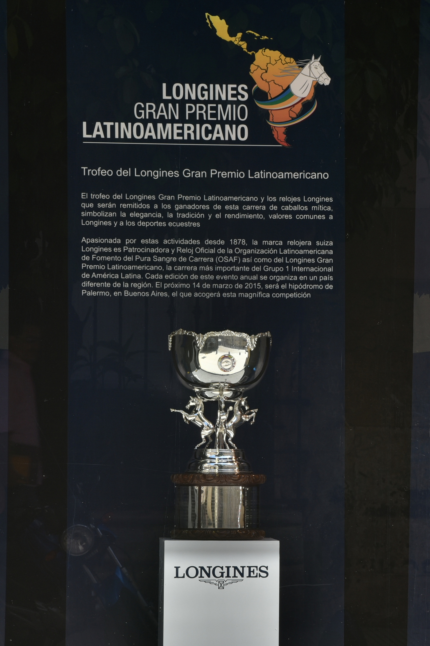 Longines Flat Racing Event: The 2015 Longines Gran Premio Latinoamericano 1