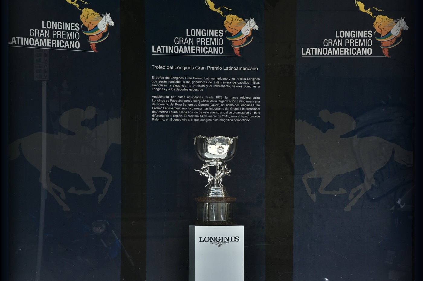 Longines Flat Racing Event: The 2015 Longines Gran Premio Latinoamericano 3