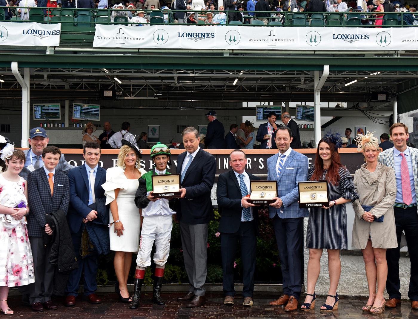 Longines Flat Racing Event: Longines Honors Justify's Kentucky Derby Victory  1
