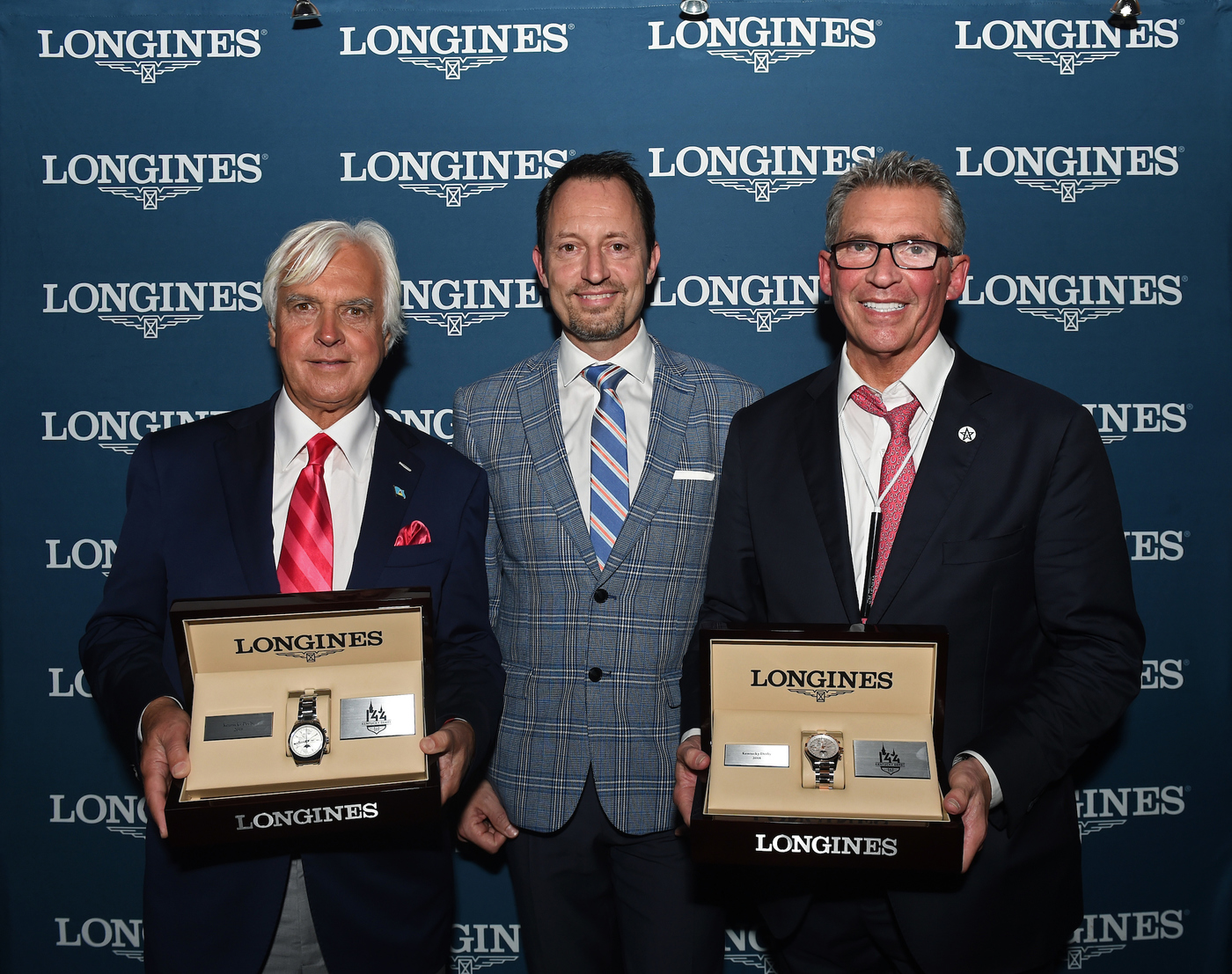 Longines Flat Racing Event: Longines Honors Justify's Kentucky Derby Victory  2