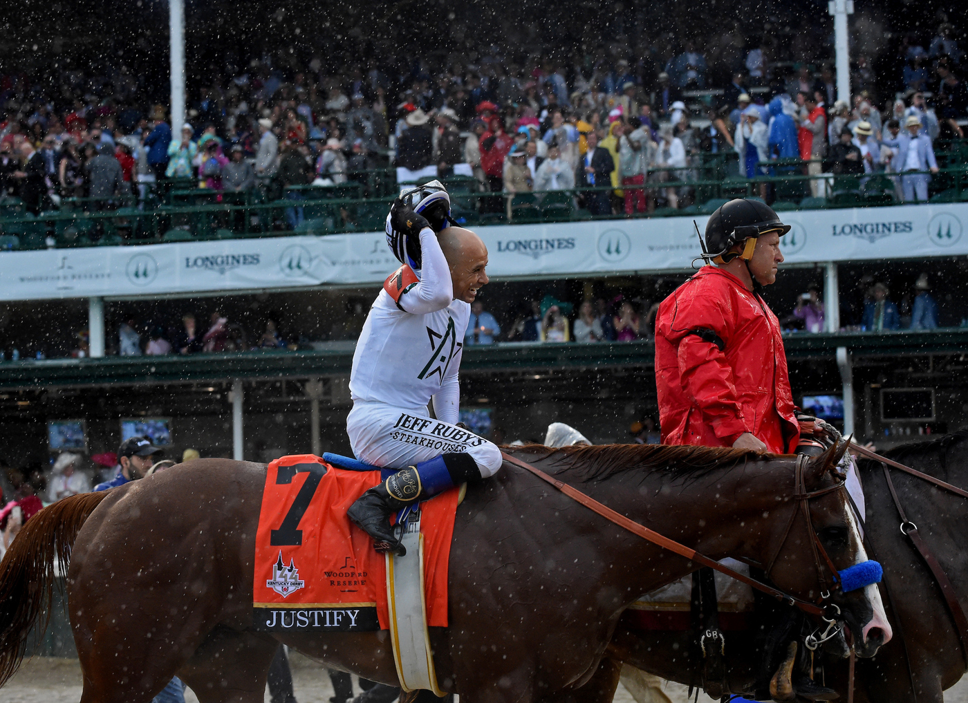 Longines Flat Racing Event: Longines Honors Justify's Kentucky Derby Victory  3