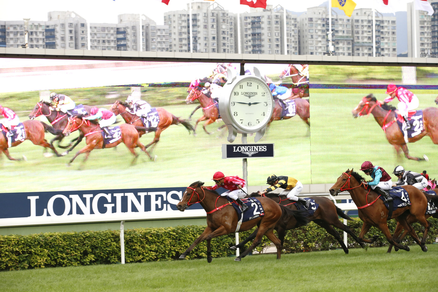 Longines Flat Racing Event: The Longines Hong Kong International Races:  four races, four chances to become a legend 5