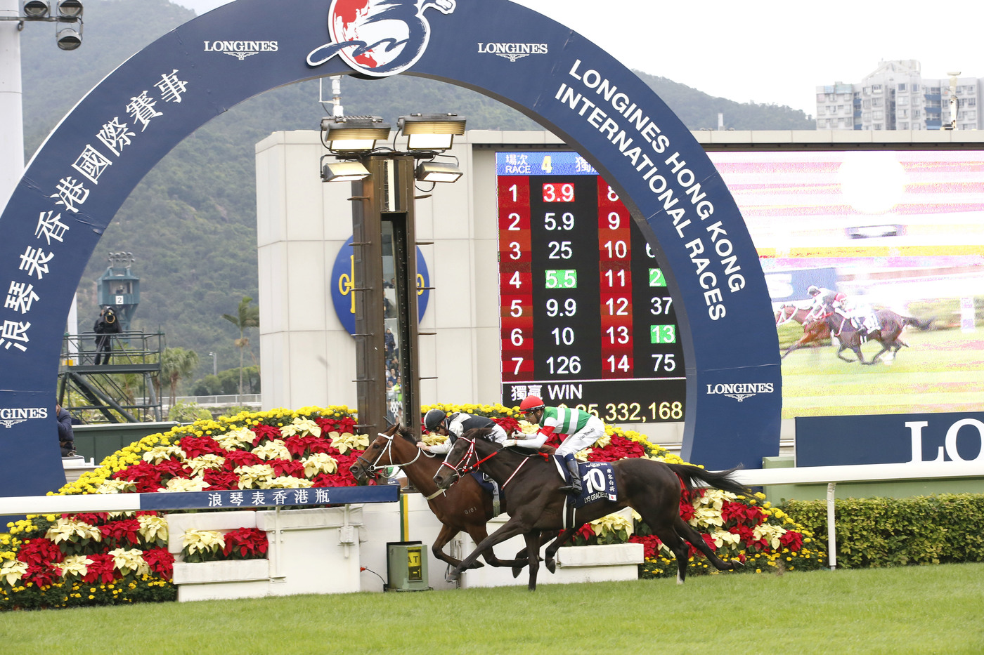 Longines Flat Racing Event: The Longines Hong Kong International Races:  four races, four chances to become a legend 13