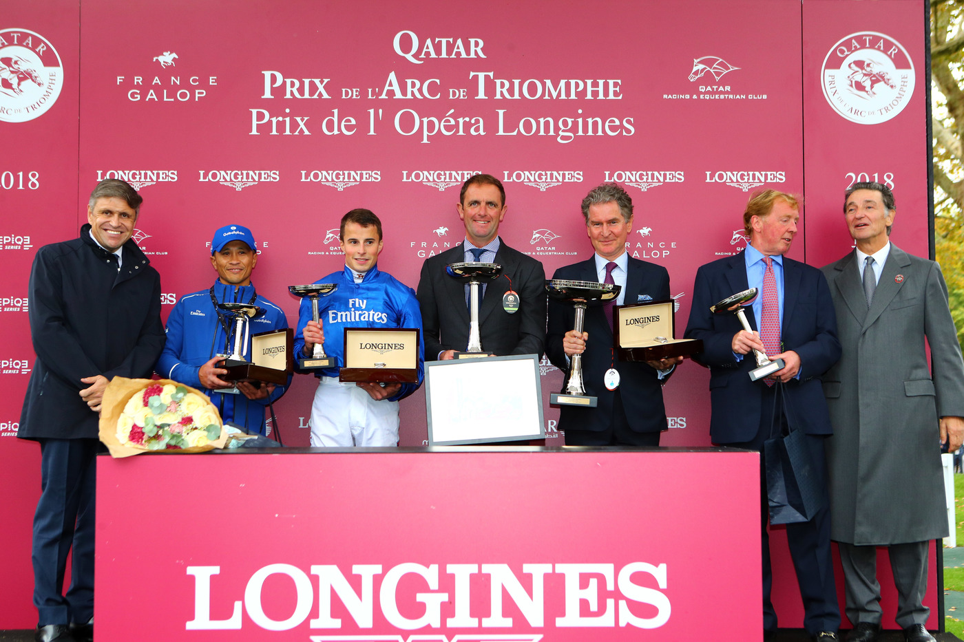 Longines Flat Racing Event: Longines times the Qatar Prix de l'Arc de Triomphe  back at ParisLongchamp 4