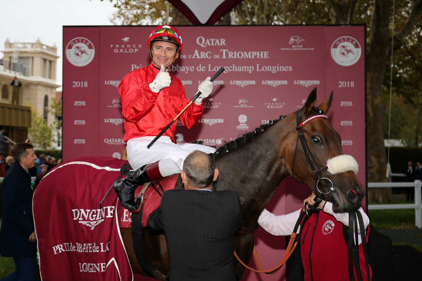 Longines Flat Racing Event: Longines times the Qatar Prix de l'Arc de Triomphe  back at ParisLongchamp 1