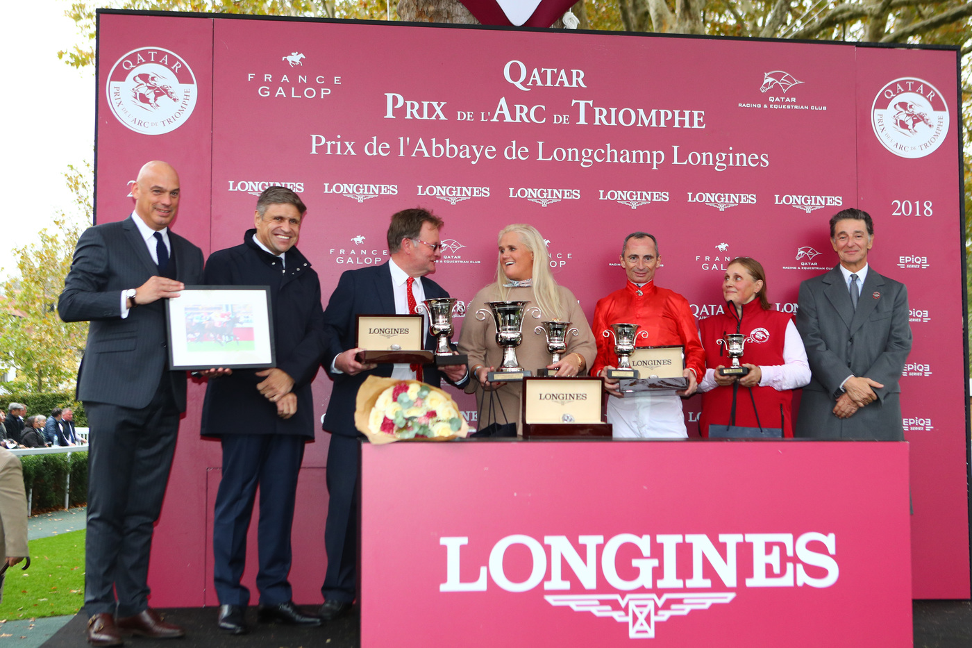 Longines Flat Racing Event: Longines times the Qatar Prix de l'Arc de Triomphe  back at ParisLongchamp 9