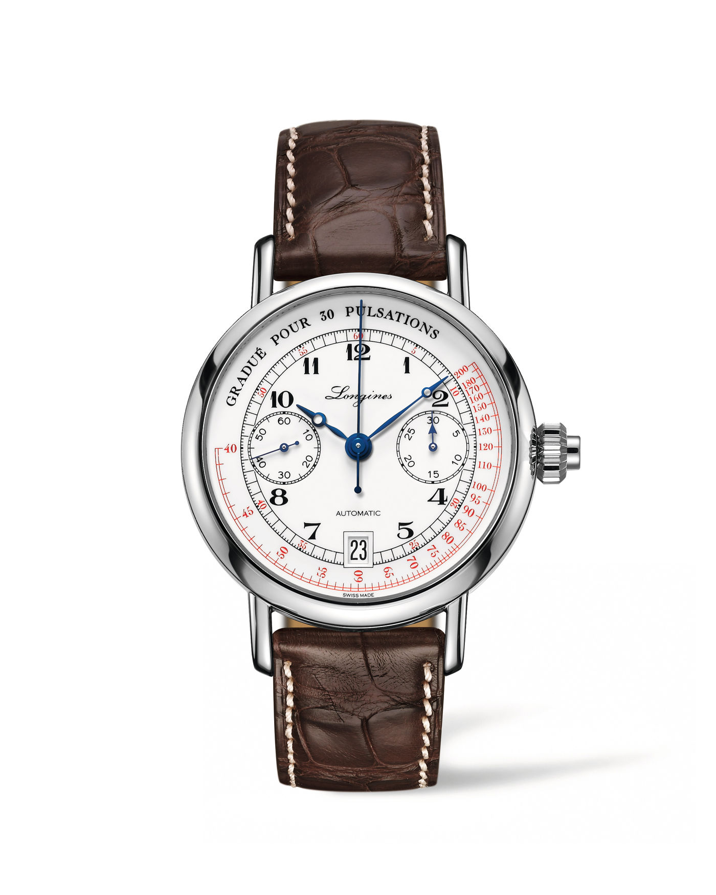 Longines The Longines Pulsometer Chronograph  Watch 1