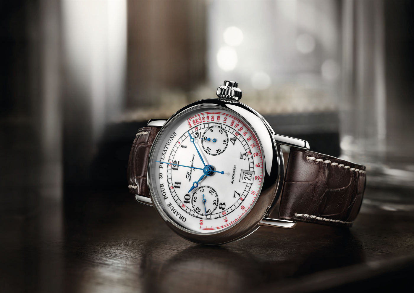 Longines The Longines Pulsometer Chronograph  Watch 2