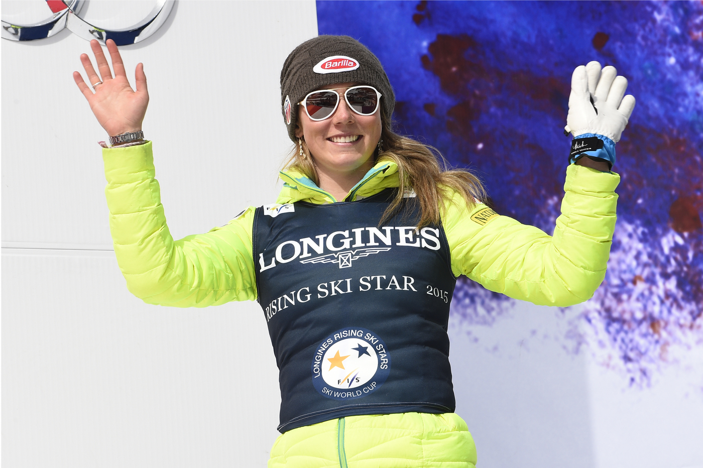 Longines Alpine Skiing Event: Longines awards the Longines Rising Ski Stars Prize to Mikaela Shiffrin and Henrik Kristoffersen 3