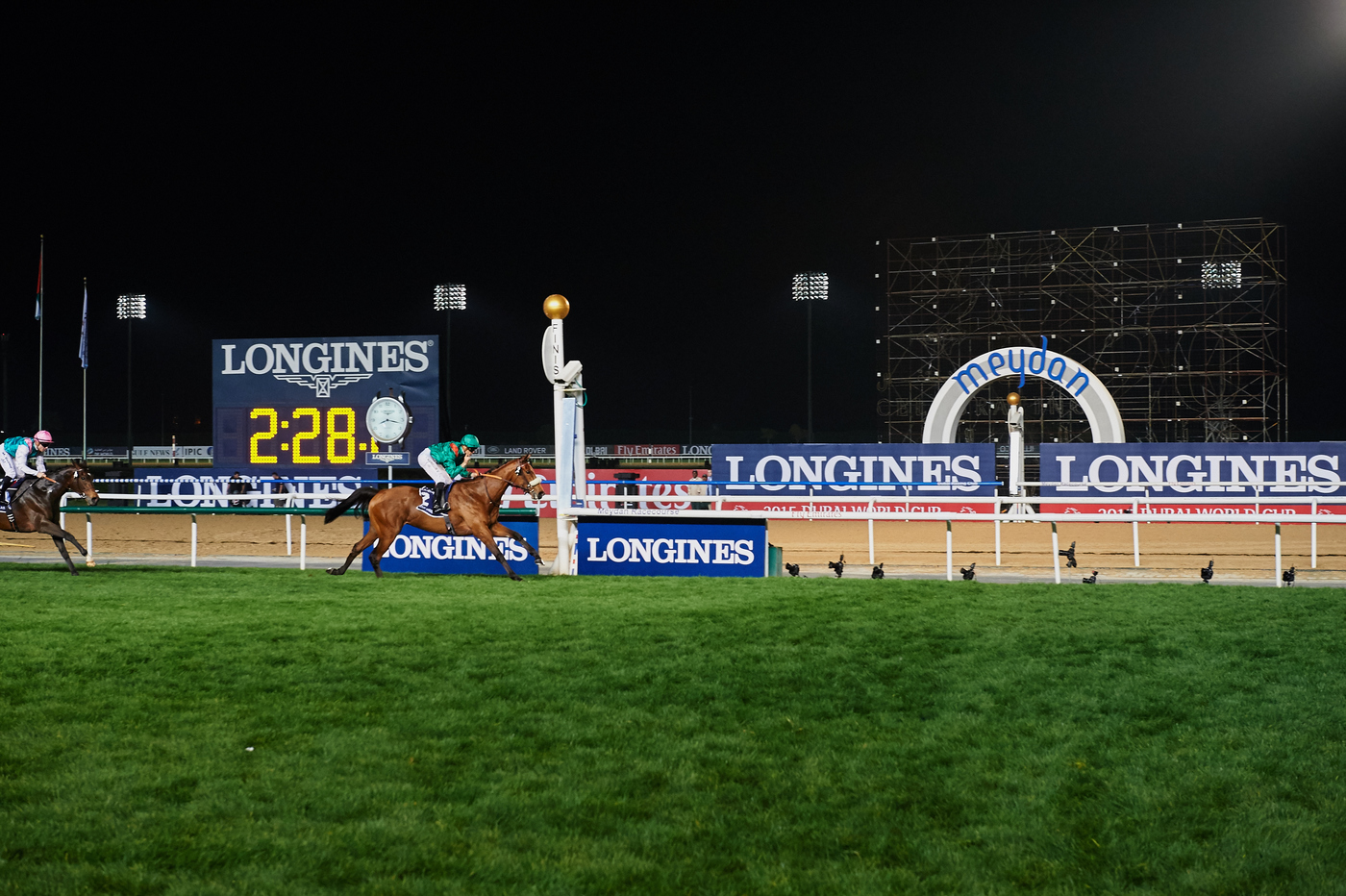 Longines Flat Racing Event: Longines elegantly celebrates the 20th edition of the Dubai World Cup 6