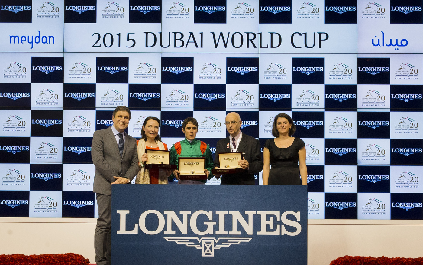 Longines Flat Racing Event: Longines elegantly celebrates the 20th edition of the Dubai World Cup 7
