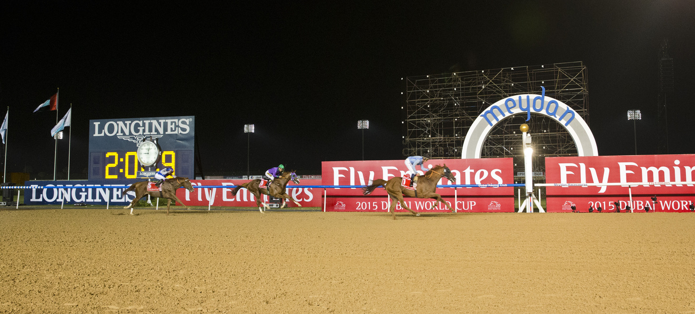 Longines Flat Racing Event: Longines elegantly celebrates the 20th edition of the Dubai World Cup 8