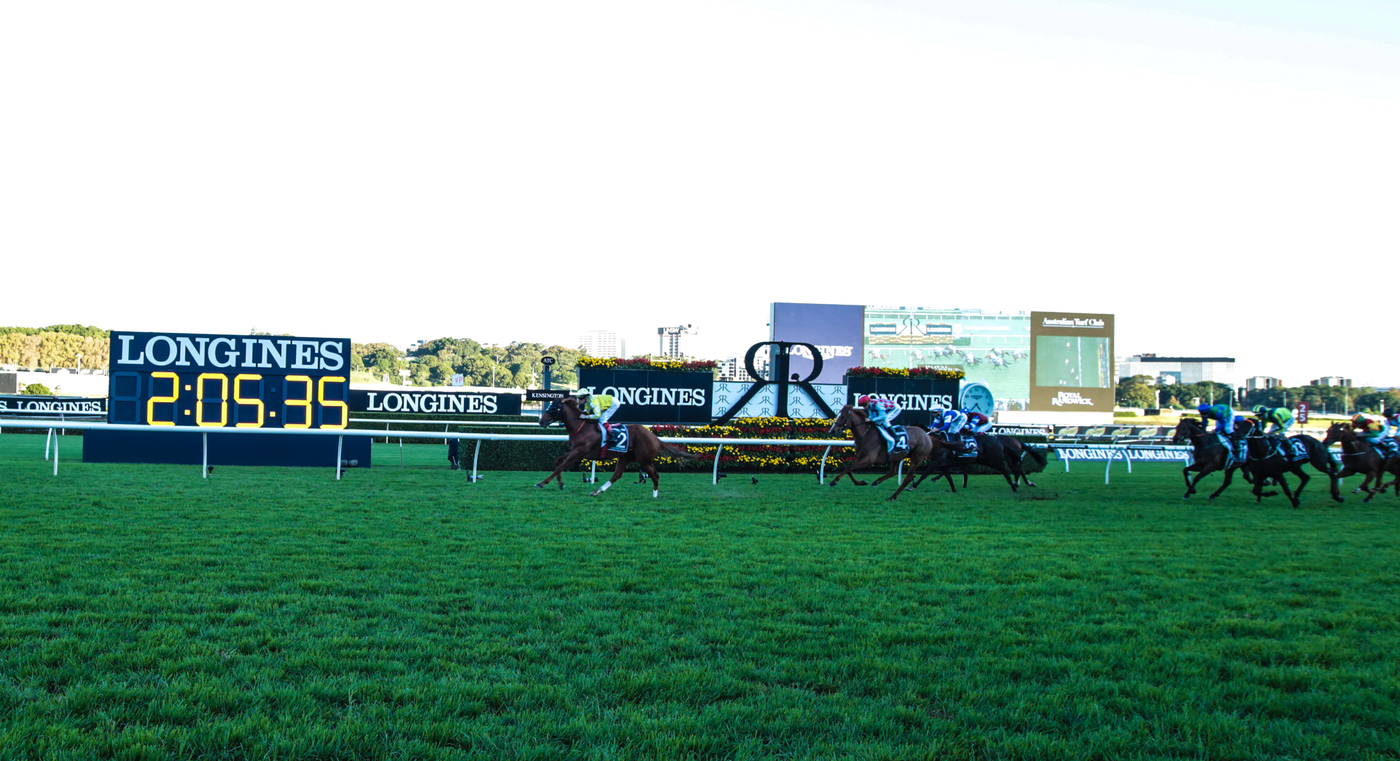 Longines Flat Racing Event: Victory of Craig Williams on Criterion at the Longines Queen Elizabeth Stakes  4