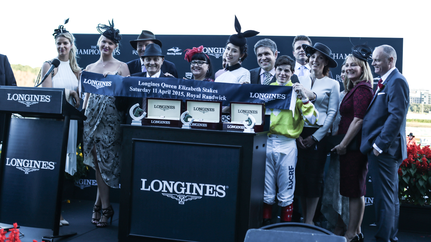 Longines Flat Racing Event: Victory of Craig Williams on Criterion at the Longines Queen Elizabeth Stakes  5