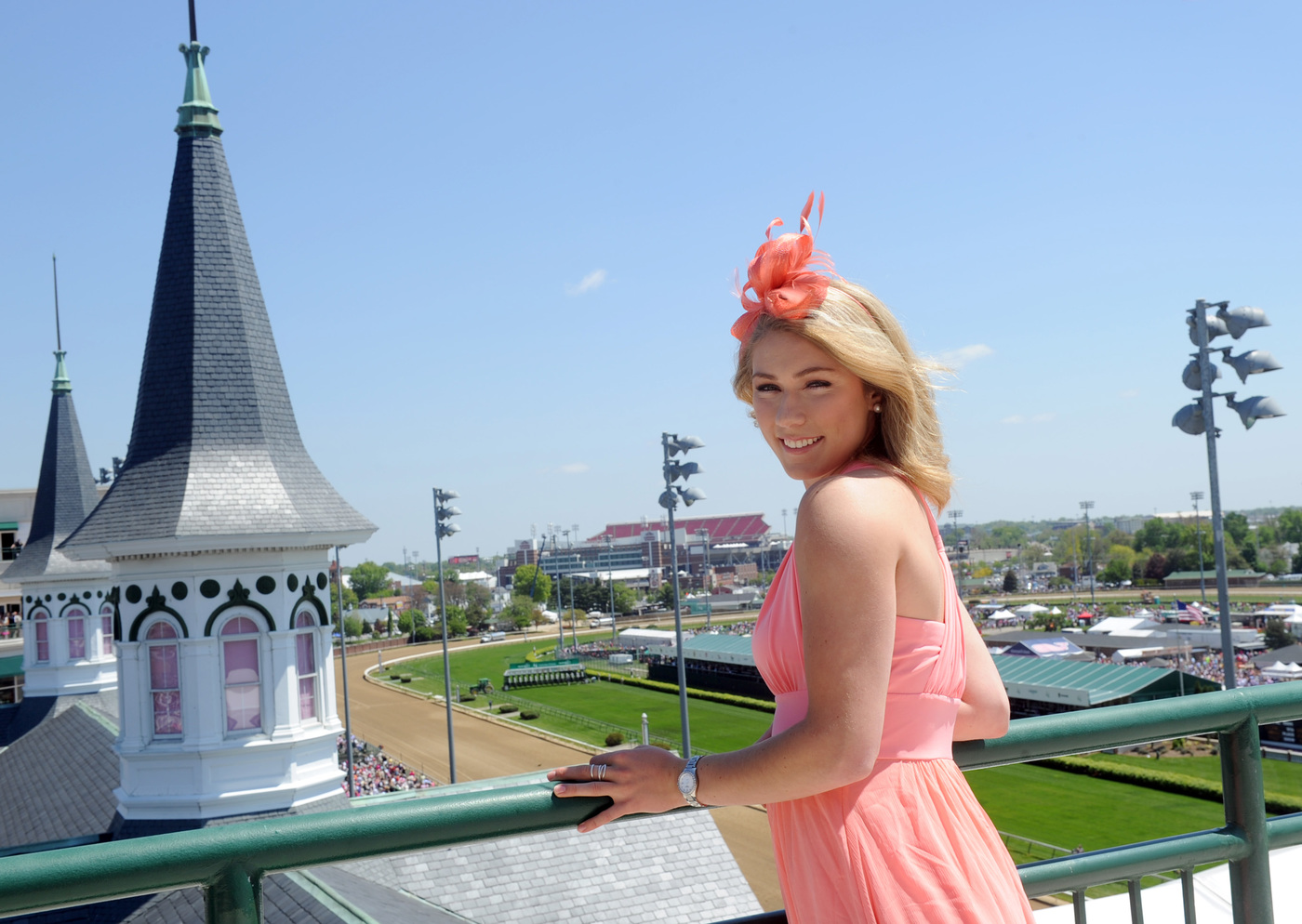 Longines Flat Racing Event: The 141st Longines Kentucky Oaks with Mikaela Shiffrin 6